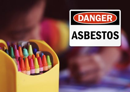 Asbestos found in Crayons